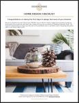 Southern Athena - Home Design Checklist