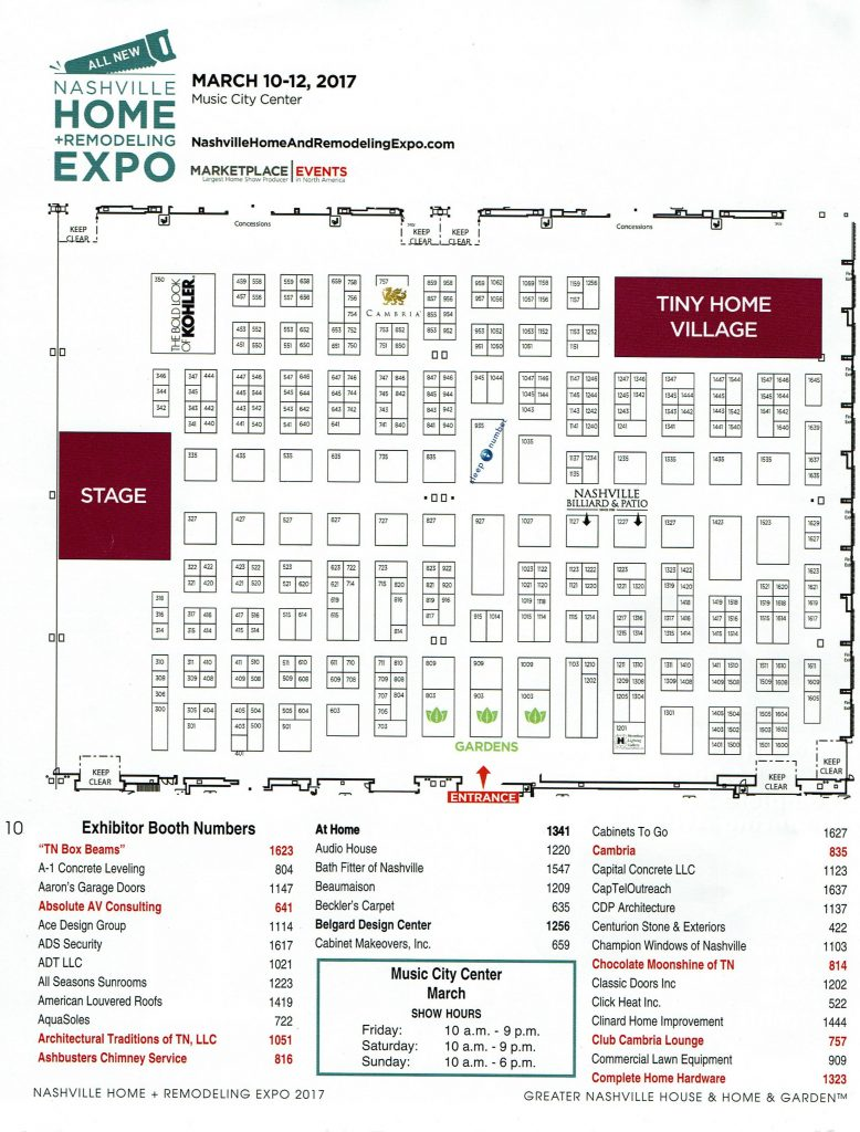 Nashville Home And Remodeling Expo Southern Athena