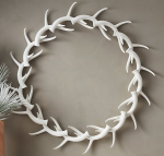 Donner Antler Wreath