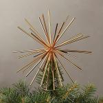 Gold Burst Tree Topper