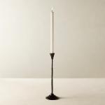 Rho Black Taper Candle Holder