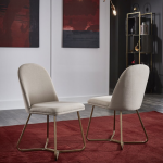 Everly Quinn Phinney Upholstered Dining Chair
