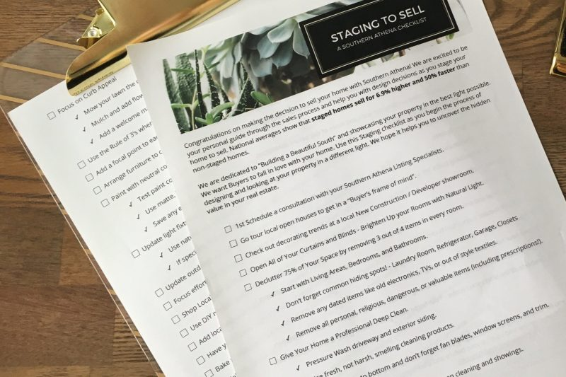 Home Staging Checklist with Churchill Mortgage