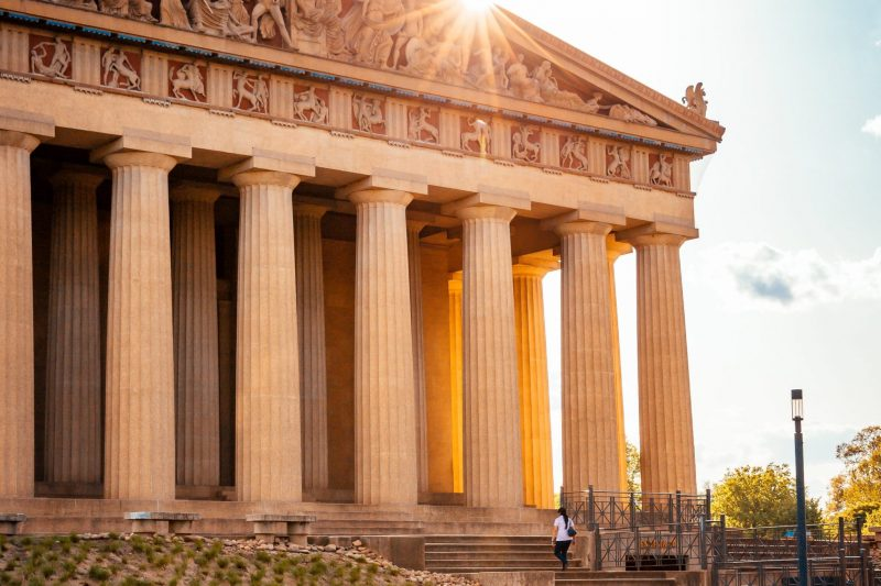 Nashville Parthenon - Historic Architecture
